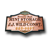JJ Wild Construction Signature Sign